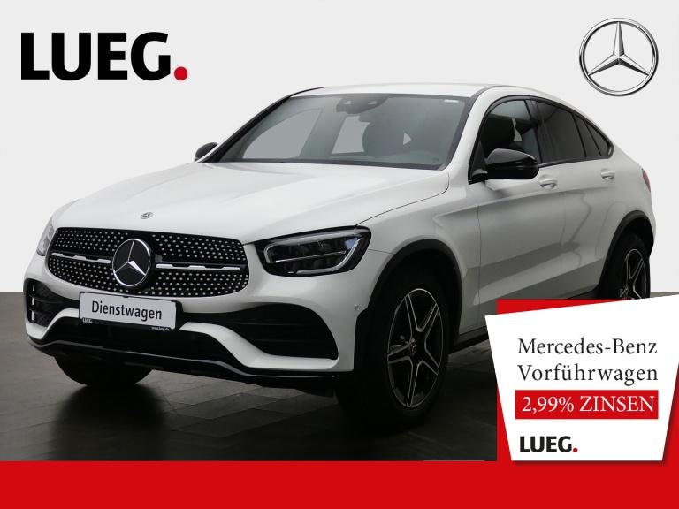 Mercedes-Benz GLC 200 d 4M Coupé AMG+19''+DIGITALTACHO+LED+KAM, Jahr 2020, Diesel