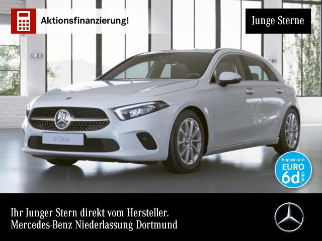 Mercedes-Benz A 220 Progressive Navi Premium Distr. LED PTS, Jahr 2019, Benzin