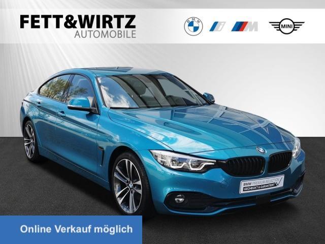 BMW 420 Gran Coupe D Sport Line Navi HUD Stop&Go, Jahr 2020, Diesel