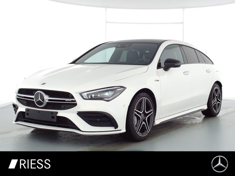 Mercedes-Benz CLA 35 AMG 4M SB Pano Sthz AHK Night Bur Multi, Jahr 2020, Benzin
