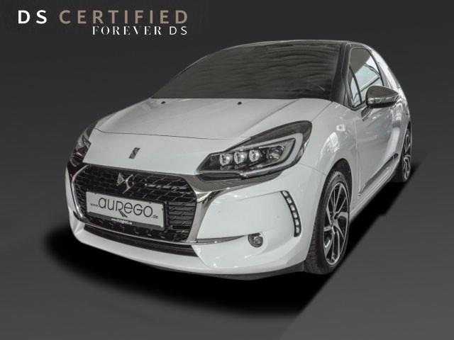 DS Automobiles DS3 PT82 SO CHIC+VOLL-LED+NAVI+SHZ+LM 17ZOLL, Jahr 2017, Benzin