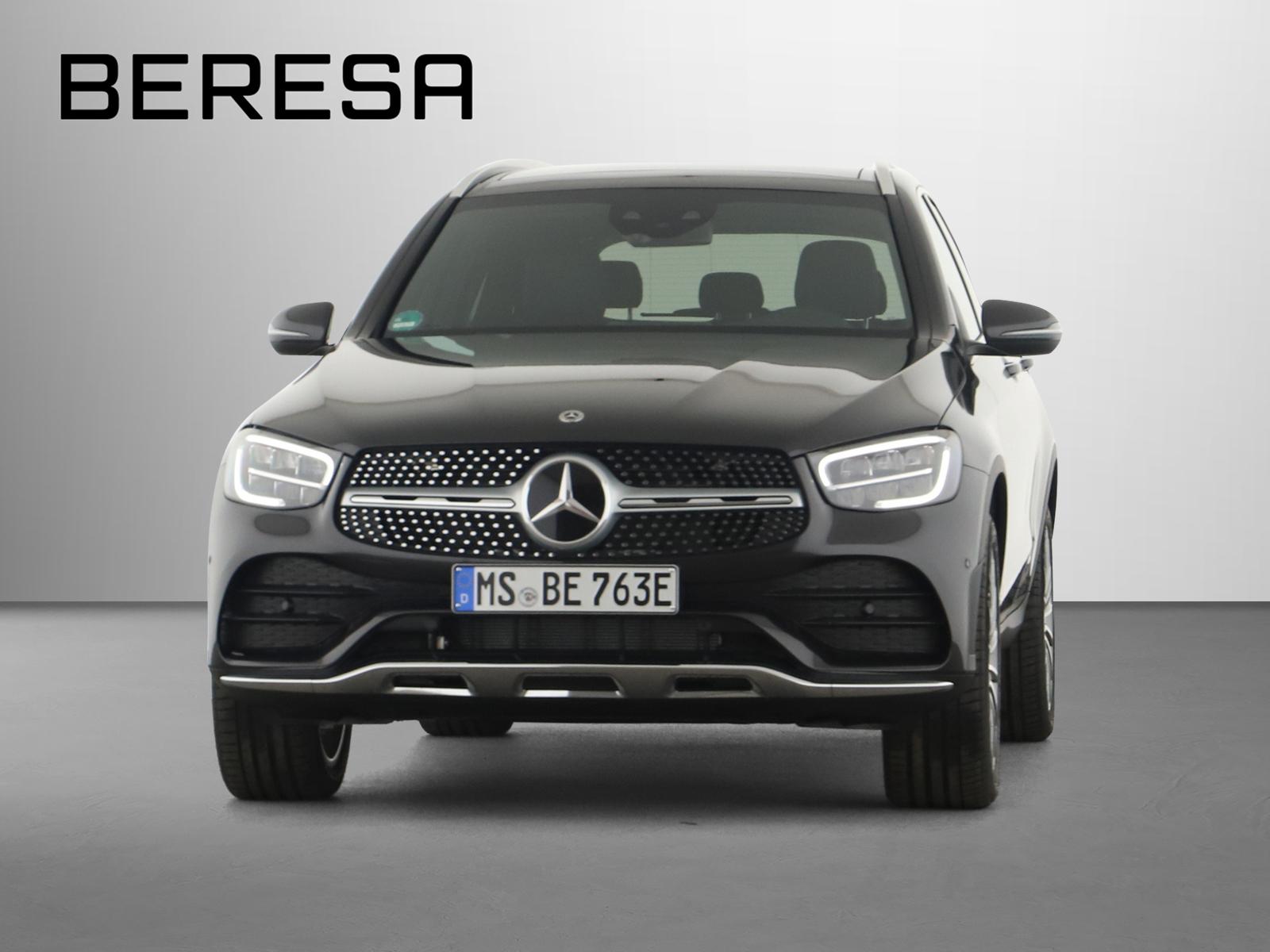 Mercedes-Benz GLC 300 e 4M AMG Burmester Fahrassist., Jahr 2021, Hybrid