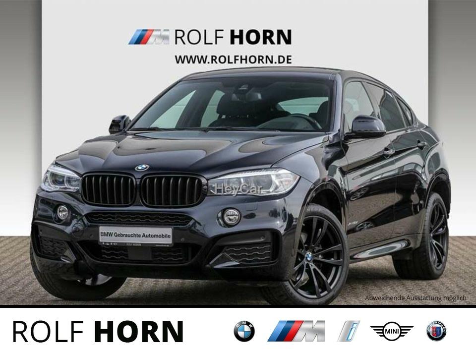 BMW X6 xDrive30d M Sportpaket Navi Glasdach EURO 6, Jahr 2017, Diesel