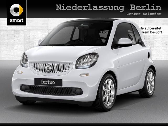 smart fortwo coupé 66kW passion cool&Audio SHZ Pano PDC, Jahr 2019, Benzin