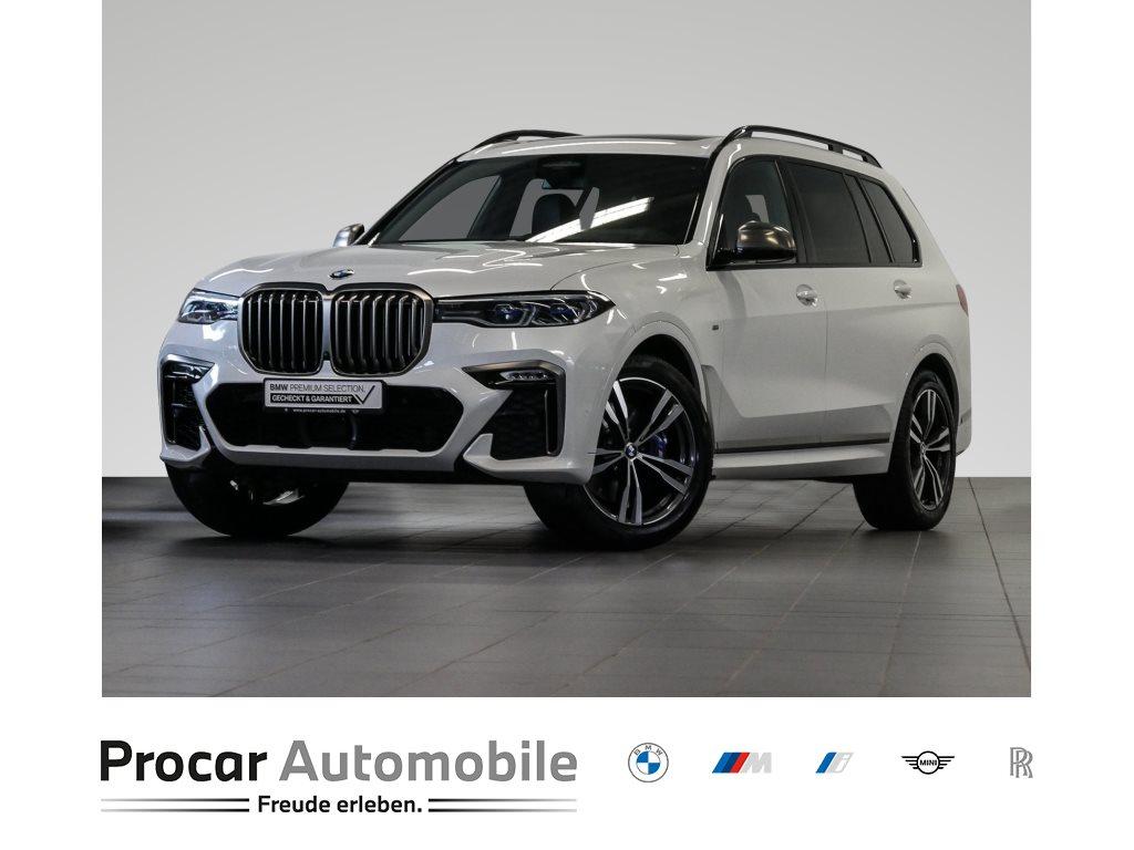 BMW X7 M50d AHK HuD SkyLounge Standhzg H+K Head-Up, Jahr 2020, Diesel