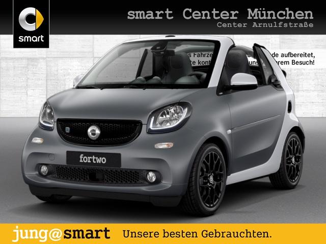 smart fortwo cabrio 60kWed passion cool&Media SHZ LED, Jahr 2017, Elektro