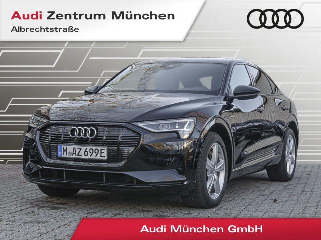 """Audi e-tron Sportback 55 qu. advanced S line Virtual MatrixLED Navi Leder Luftfw. R-Kamera 21"""", Jahr 2021, electric"""