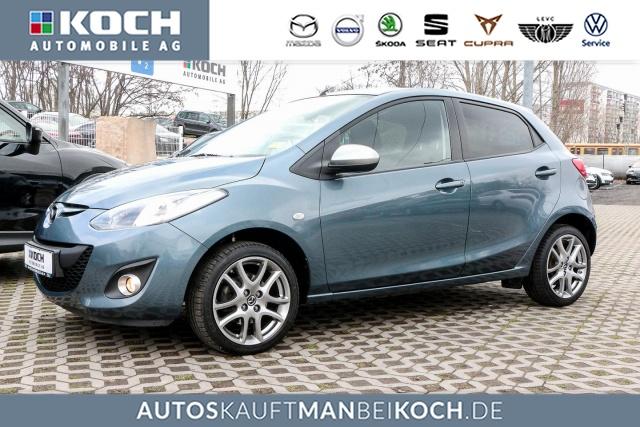 Mazda 2 1.3l MZR 84PS 5 Türer SENDO KLIMA SHZ LMF PDC, Jahr 2014, Benzin