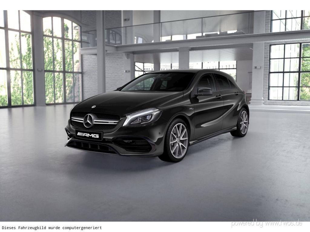 Mercedes-Benz A 45 AMG 4MATIC Designo/LED/Kamera/Navi/PDC, Jahr 2017, Benzin