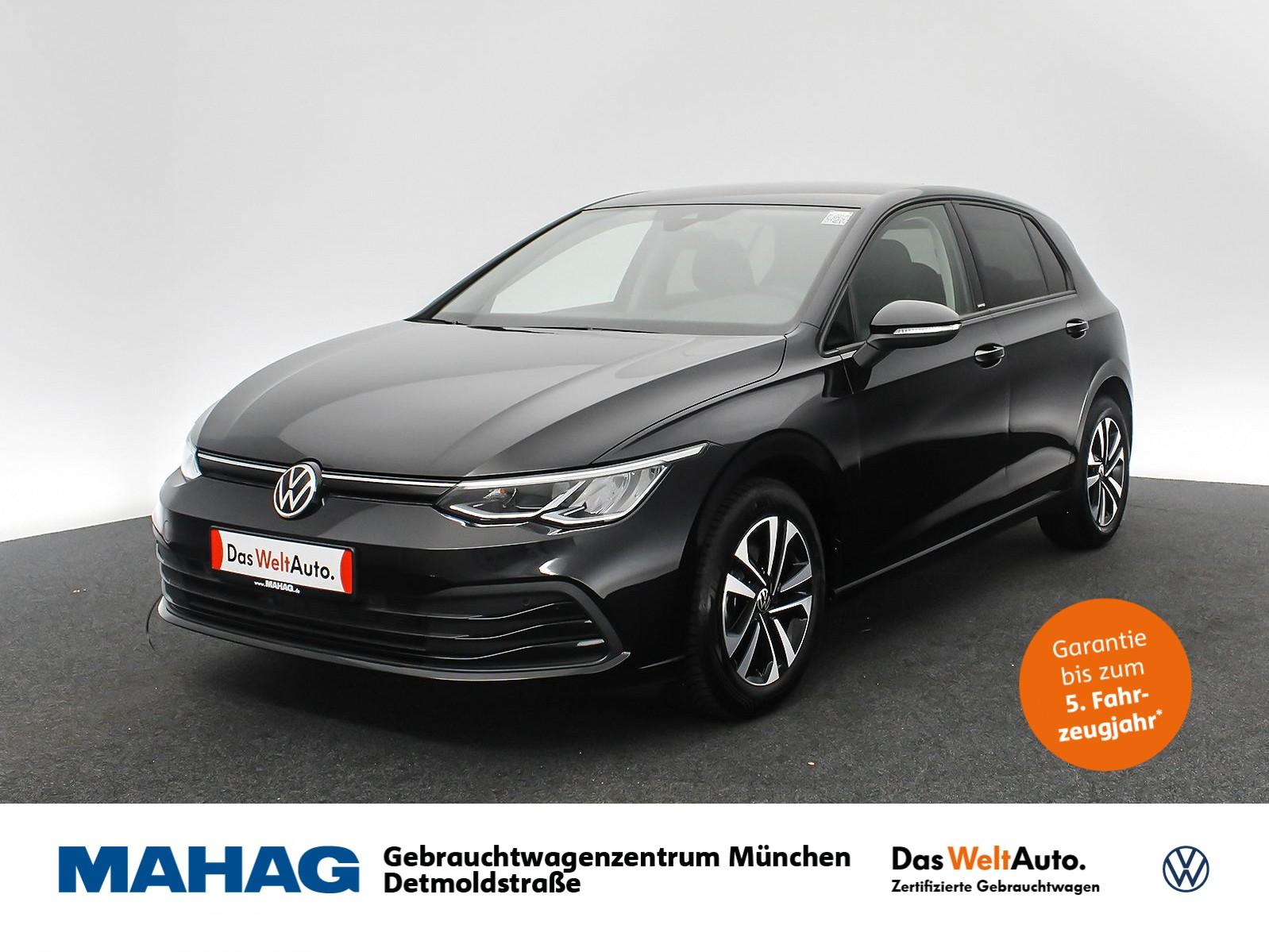 Volkswagen Golf VIII UNITED 1.0 TSI Navi LED DigitalCockpitPro Sprachbed. ACC FrontAssist 6-Gang, Jahr 2020, Benzin