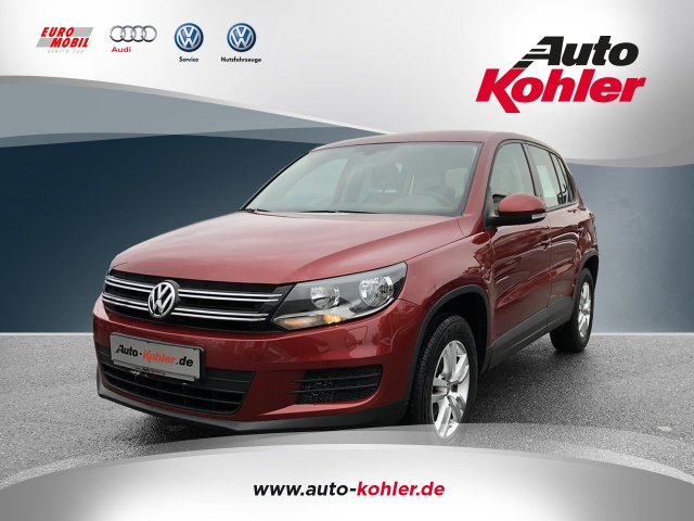 Volkswagen Tiguan 1.4 TSi Trend + Fun Sitzheizung PDC, Jahr 2012, Benzin