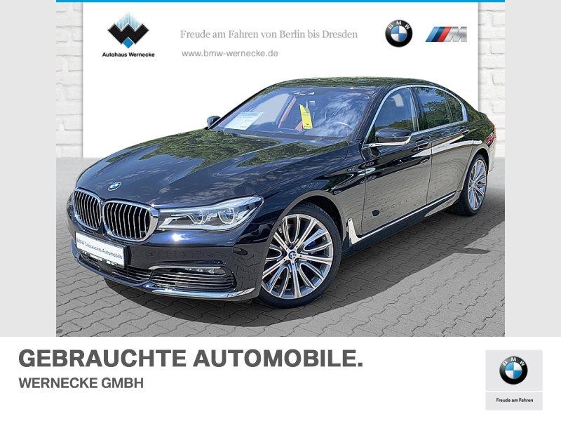 BMW 750i xDrive Limousine Ferngesteuertes Parken, Jahr 2017, Benzin