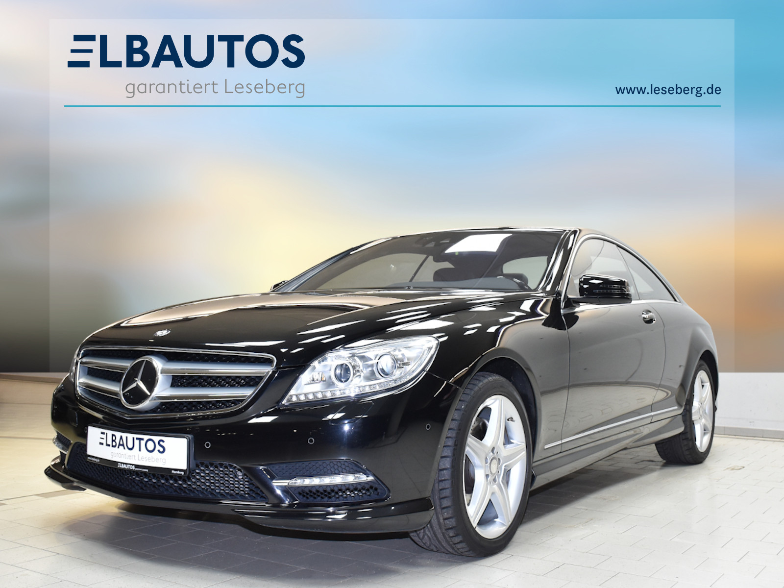 Mercedes-Benz CL 500 4M BE AMG Line/Kamera/Standhzg/Keyless/7G, Jahr 2013, Benzin