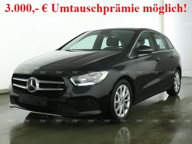 Mercedes-Benz B 180 Progressive+7G-DCT+Navi-Prem+AHK+Business-P, Jahr 2019, Benzin