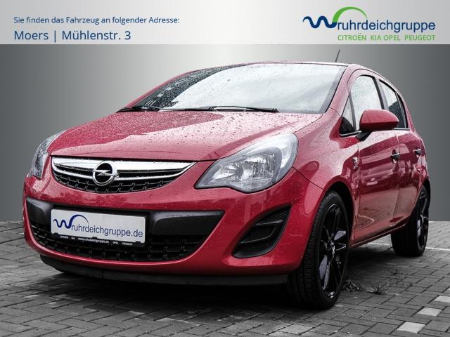 Opel Corsa Active+Klima+Alu+SONDERFARBE, Jahr 2013, Benzin