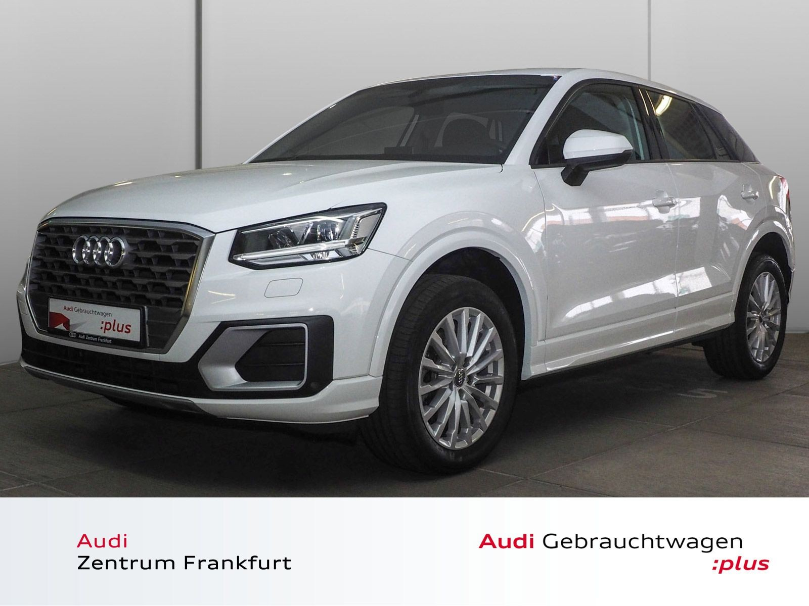 Audi Q2 1.4 TFSI S tronic Design LED Navi PDC Tempomat, Jahr 2018, Benzin
