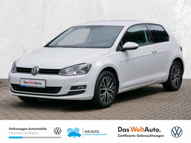 Volkswagen Golf VII 1.4 TSI DSG Allstar Navi GRA Klima Sitzhz PDC, Jahr 2017, Benzin