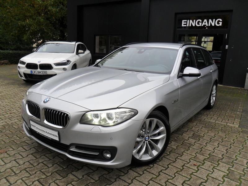 BMW 518d Touring Aut. Euro6 Edition Sport Navi PDC Sitzheizung Speed Limit Info Xenon, Jahr 2016, diesel
