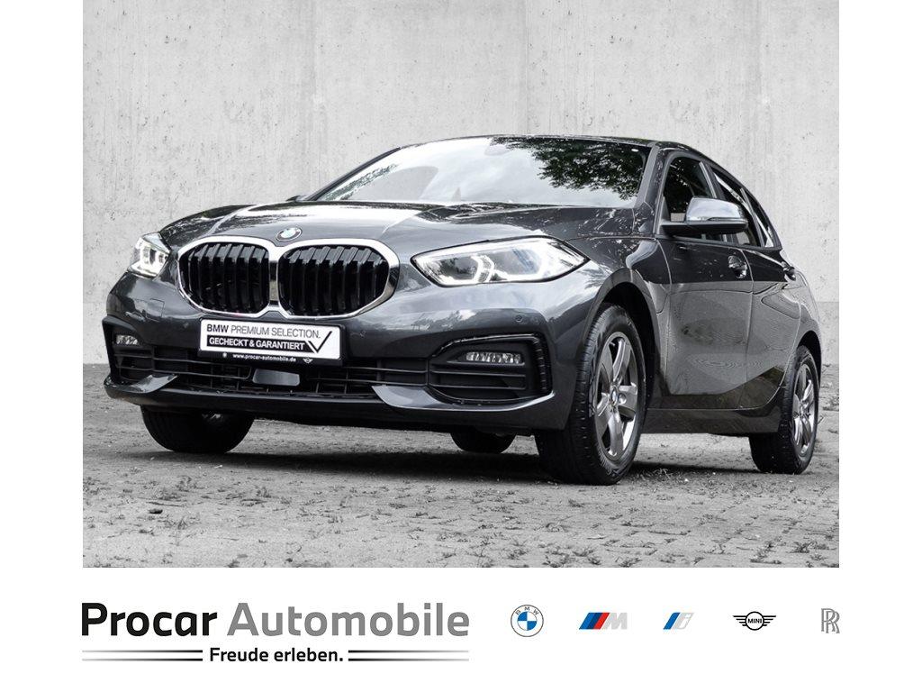 BMW 116d AUTOMATIK+NAVI+LED+DAB+WLAN+SHZ+PDC+SPORT MFL+Fin ab 0,01%, Jahr 2021, Diesel