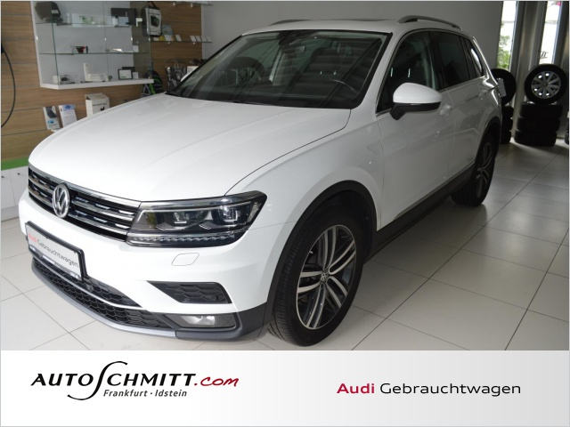 Volkswagen Tiguan 1.4 TSI DSG 4Motion Highline Navi Head-Up, Jahr 2018, Benzin