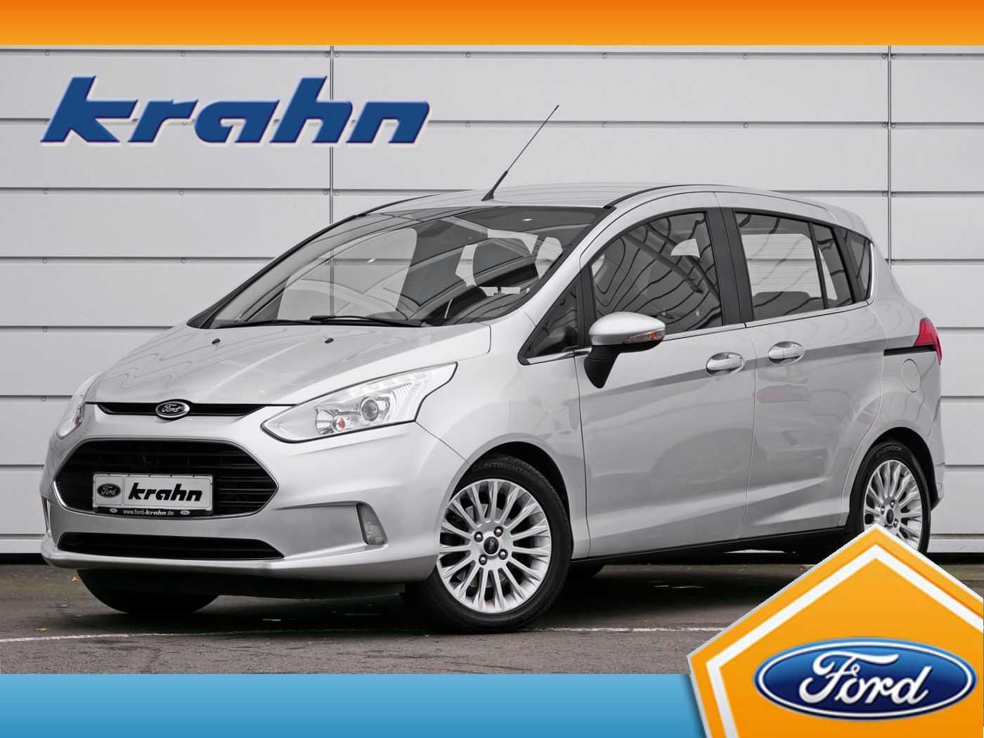 Ford B-MAX 1.0 EcoBoost Titanium | Park-Pilot | AHK |, Jahr 2014, Benzin