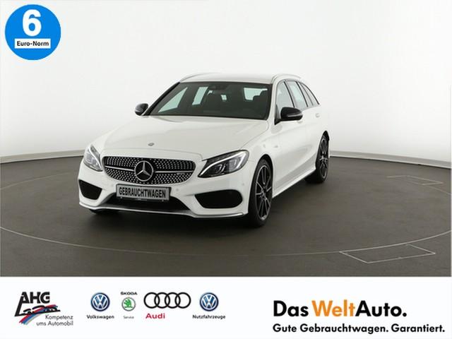 "Mercedes-Benz C 43 AMG T 4Matic 9G-TRONIC AMG Sportsitze, 19"" AMG Leichtmetallräder LED Navi Leder GRA LM-Felge, Jahr 2016, petrol"