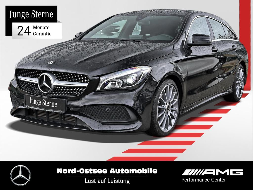 Mercedes-Benz CLA 250 Shooting Brake AMG-Line+Navi+LED+SHZ++++, Jahr 2017, Benzin