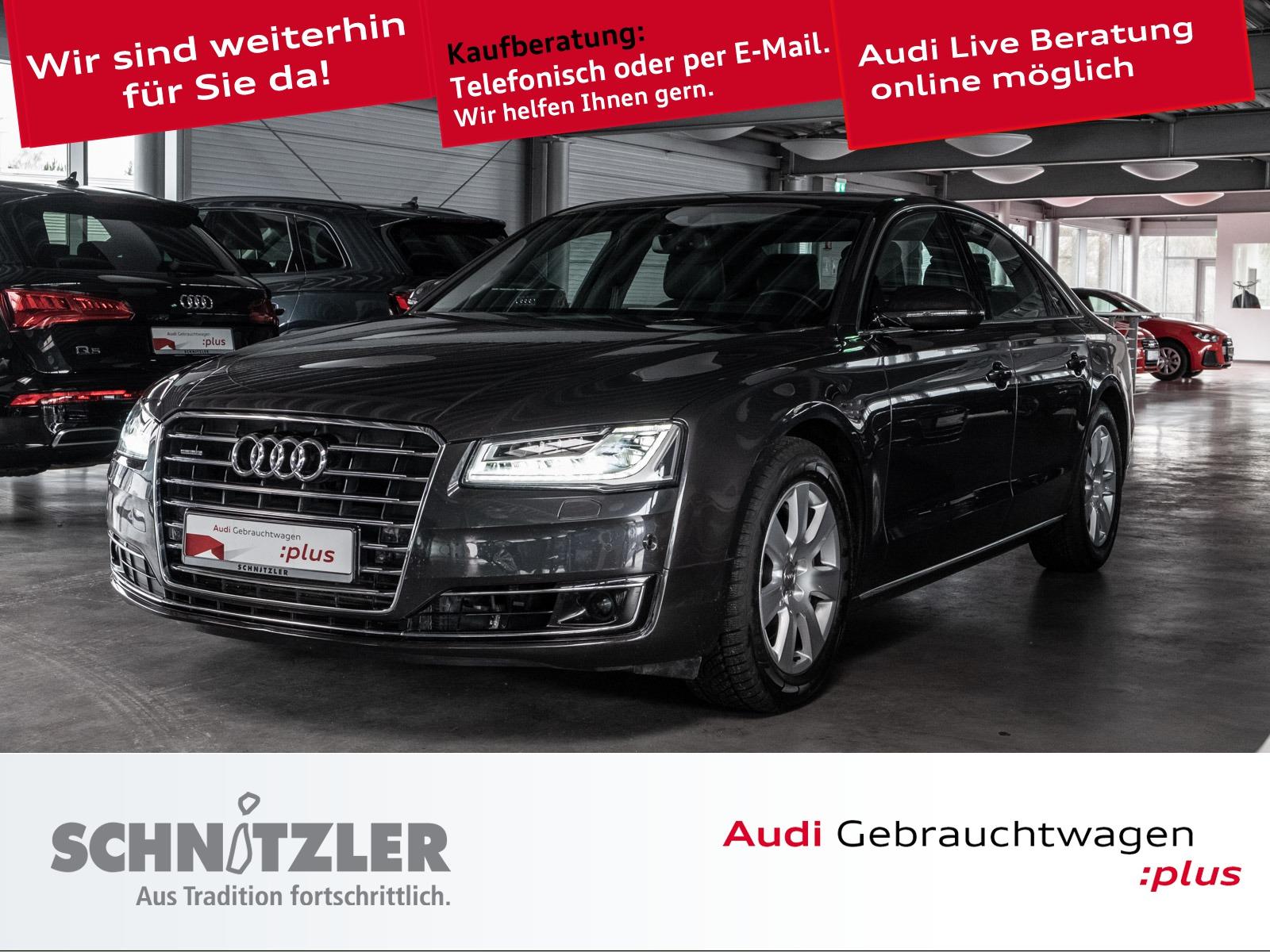 Audi A8 3.0 TDI clean Diesel quattro tiptronic SD/Nachtsichtas./BOSE/ACC/+++, Jahr 2014, Diesel