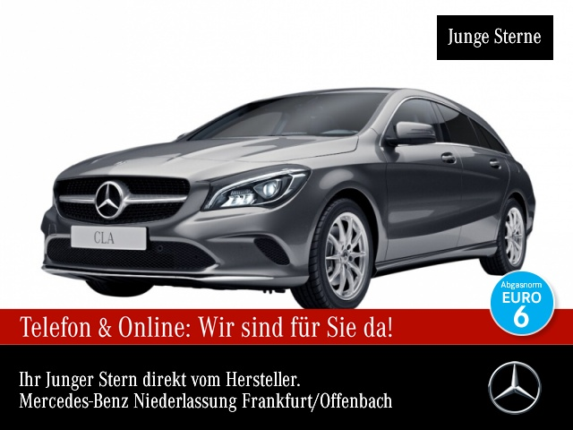 Mercedes-Benz CLA 250 SB Exkl-Paket Pano LED Navi Klimaautom, Jahr 2017, Benzin