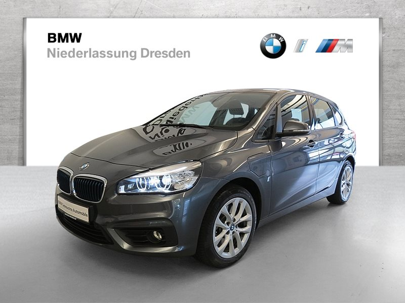 BMW 225 Active Tourer 225xe iPerformance EURO6 Advantage Head-Up, Jahr 2017, Hybrid