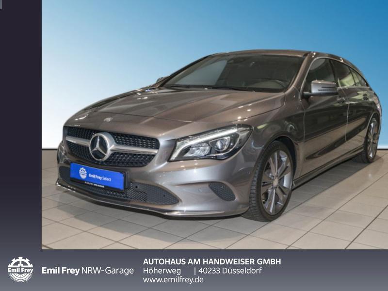 Mercedes-Benz CLA Shooting Brake 180, Navi, Ganzjahresreifen, Jahr 2017, Benzin