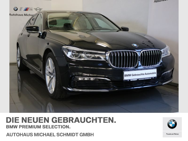 BMW 730d Limousine NAVI PROF.+HUD+LED+360°+H&K+DAB+SOFT-CLOSE+DISPLAY-KEY, Jahr 2015, diesel
