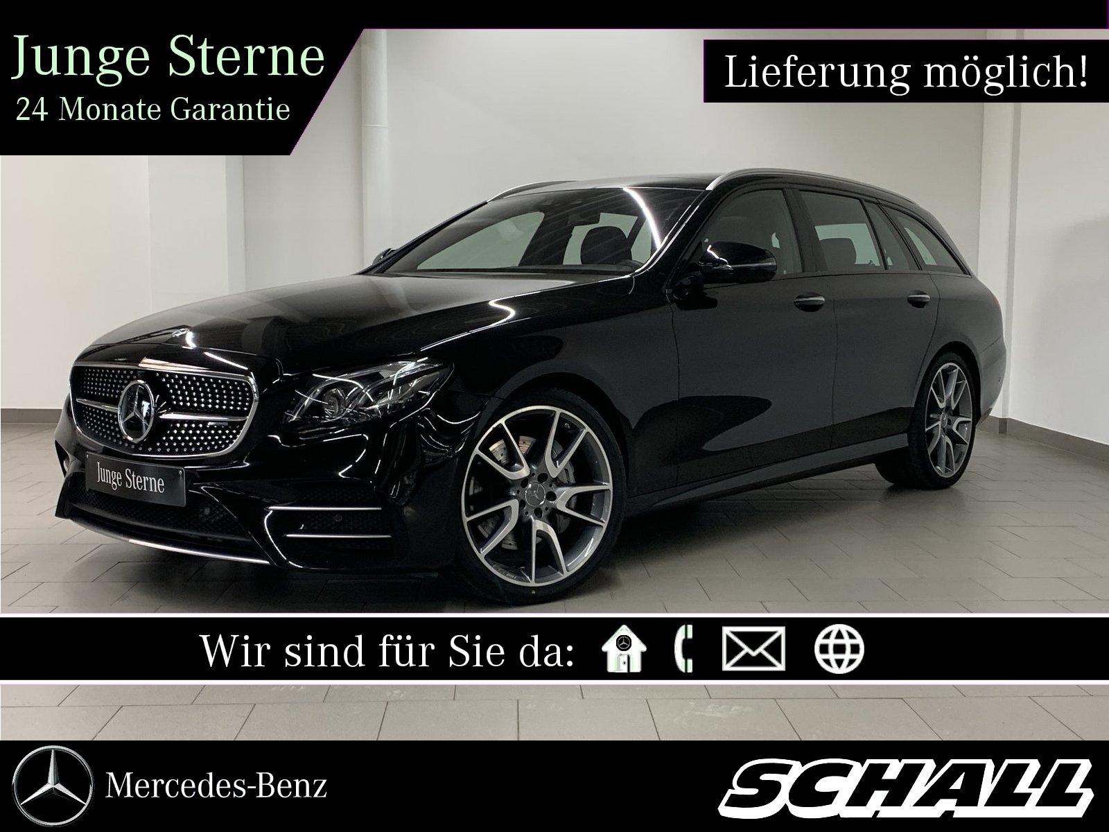 Mercedes-Benz E 43 AMG 4M T PANO+MULTIBEAM+DISTR+360°+MEMORY, Jahr 2017, Benzin