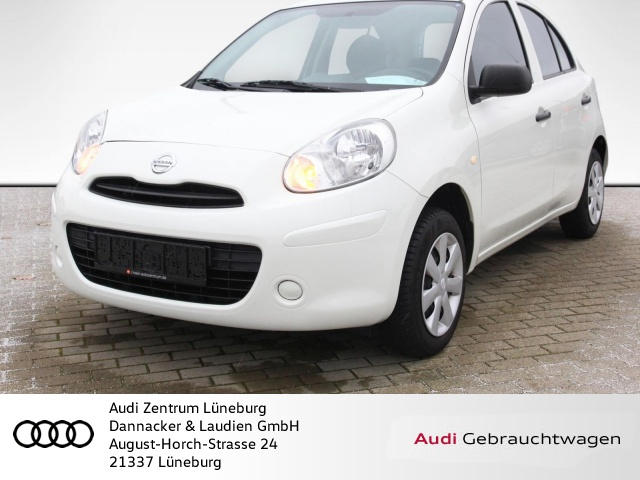 Nissan Micra 1.2 Visia Klima Bluetooth CD-Player ABS ESP, Jahr 2013, Benzin