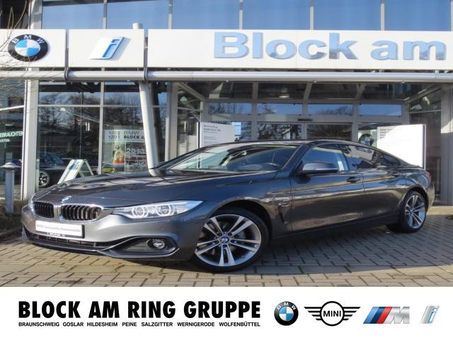 BMW 435dA xDrive Gran Coupé Sport Line HUD Navi LED, Jahr 2016, diesel
