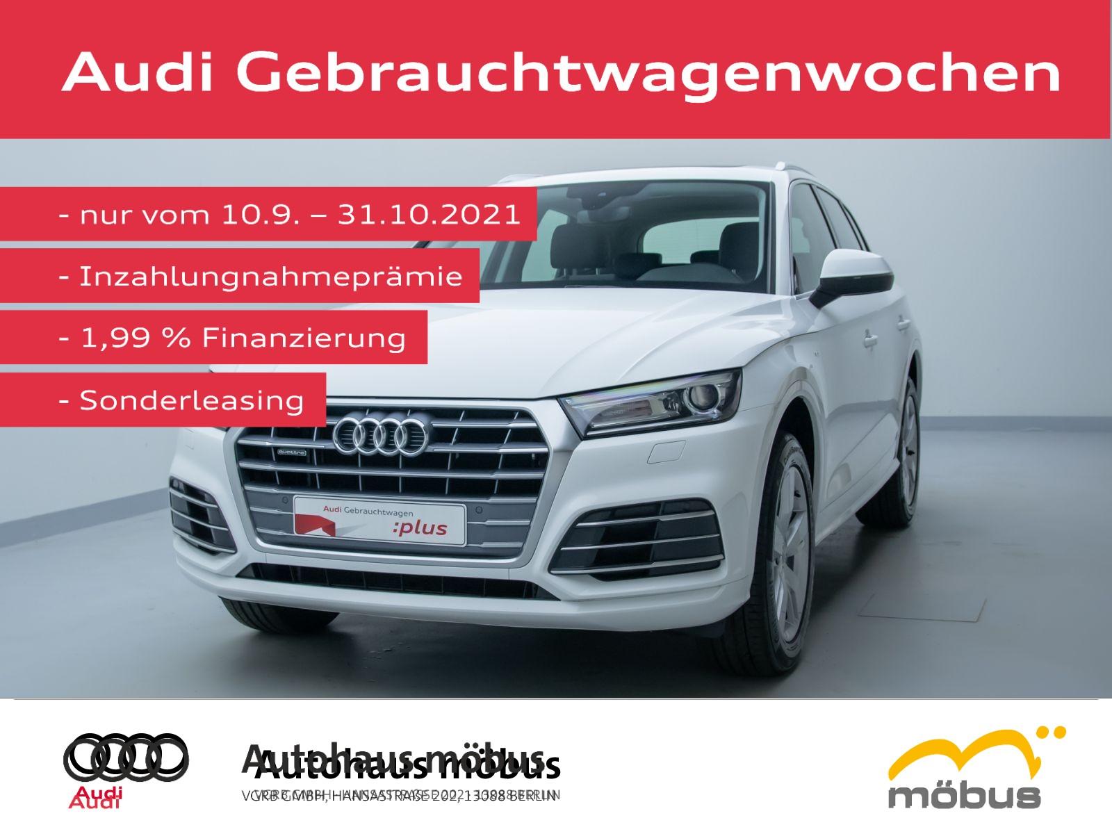 Audi Q5 design 2.0 TDI QU*6-GA*SLINE*PANO*AHK*NAV*PDC, Jahr 2020, Diesel