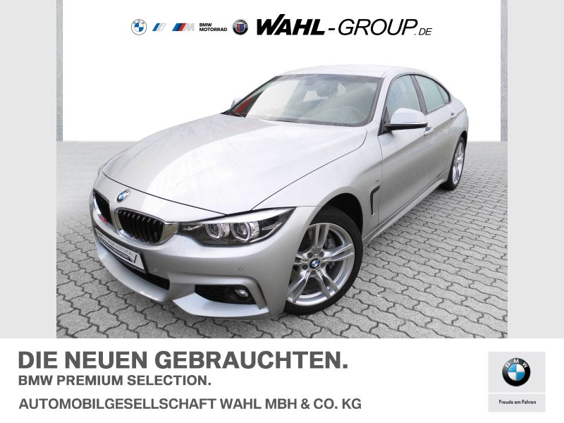 BMW 440i xDrive Gran Coupé M-Sport   Navi AHK LED, Jahr 2017, Benzin