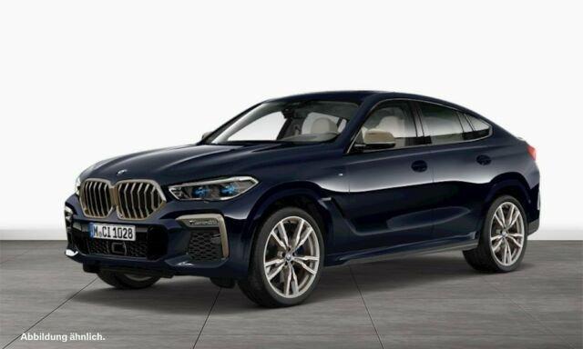 BMW X6 M 50i Gestiksteuerung B&W Surround Head-Up, Jahr 2019, petrol