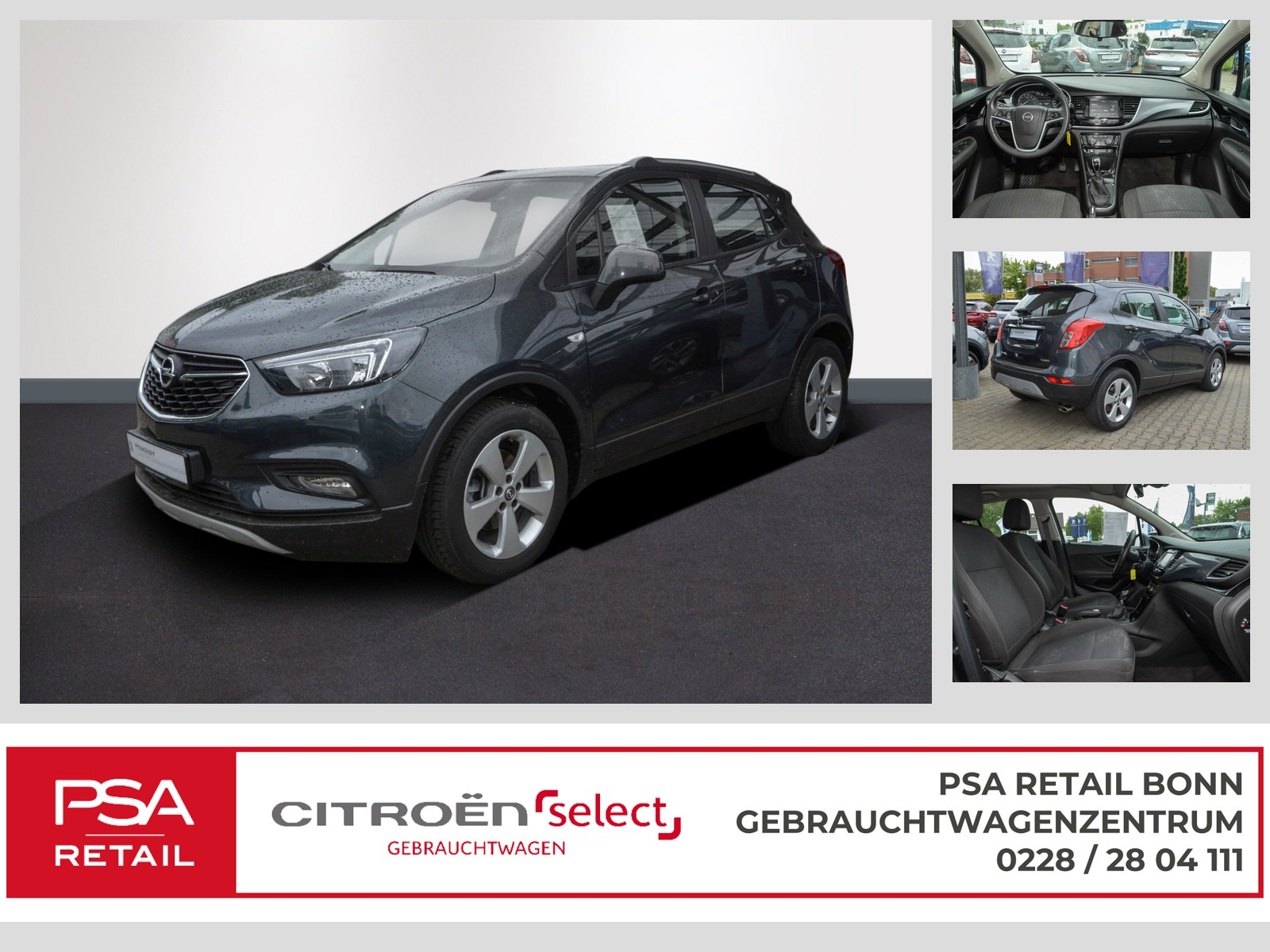 Opel Mokka X 1.4 ecoFLEX Active Klima Bloutooth, Jahr 2017, Benzin