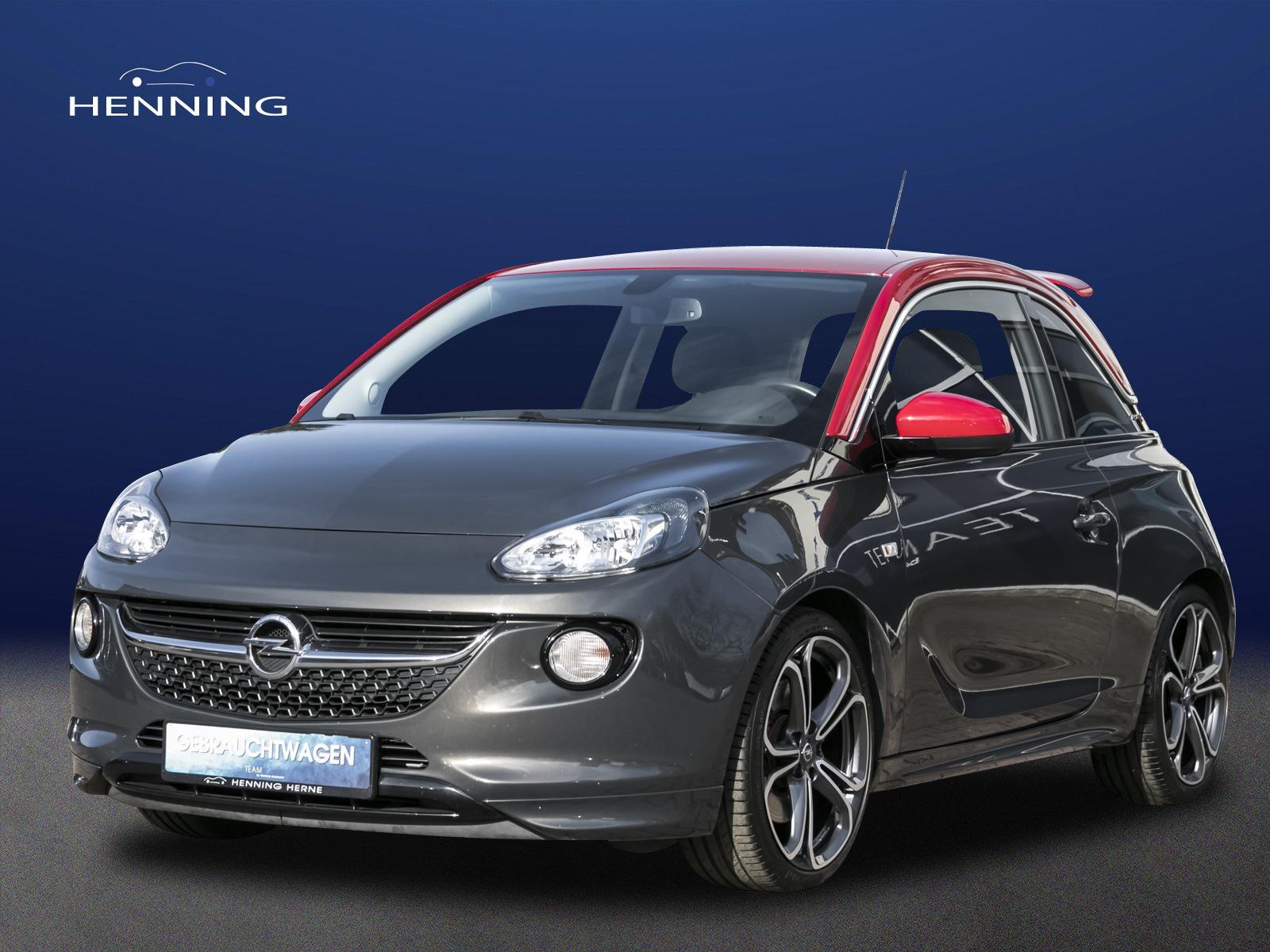 Opel Adam 1.4 Turbo S *18Zoll*IntelliLink*Winterpaket, Jahr 2015, Benzin