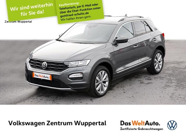 Volkswagen T-Roc 1,0 TSI STYLE NAVI VC AHK KAMERA SHZ PDC LM ZV, Jahr 2020, Benzin