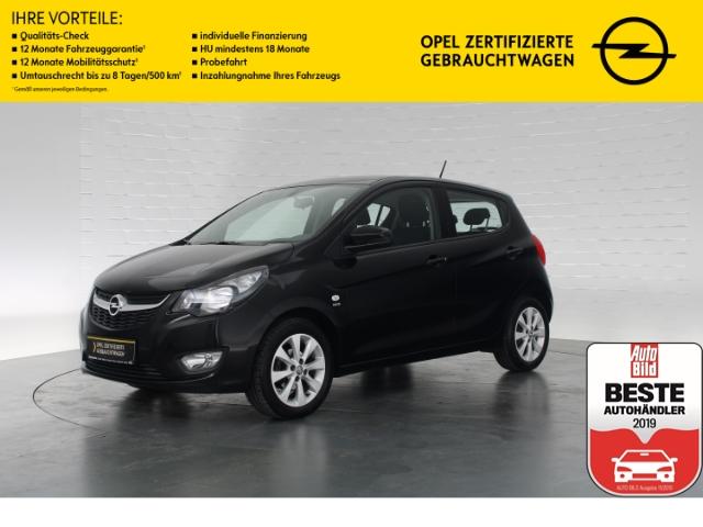 Opel Karl EXCITE+BLUETOOTH+SITZ-/LENKRADHEIZUNG+ISOFIX+TEMPOMAT+MULTIFUNKTIONSLENKRAD, Jahr 2017, Benzin