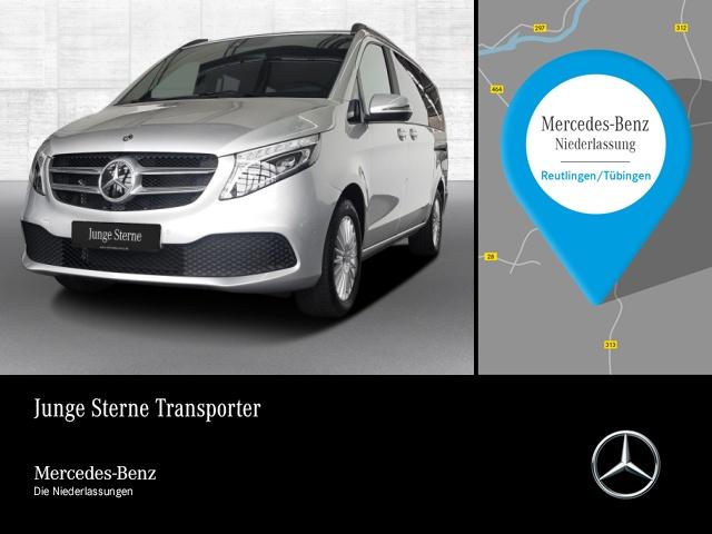 Mercedes-Benz V 300 d, 7 Sitze, LED, 9G-Tronic, Distronic, AHK, Jahr 2019, Diesel