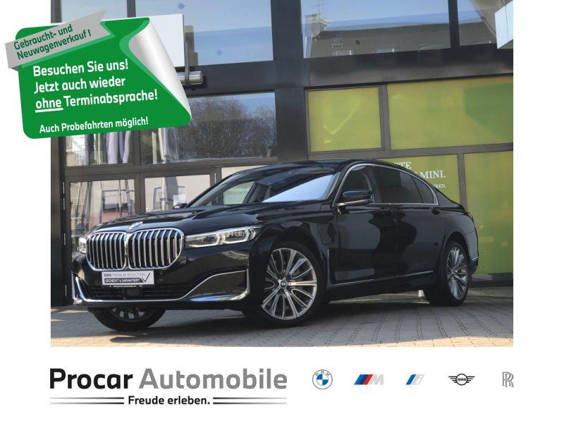 BMW 745Le xDrive Sky-Pano Pure Excellence Massage, Jahr 2019, Hybrid