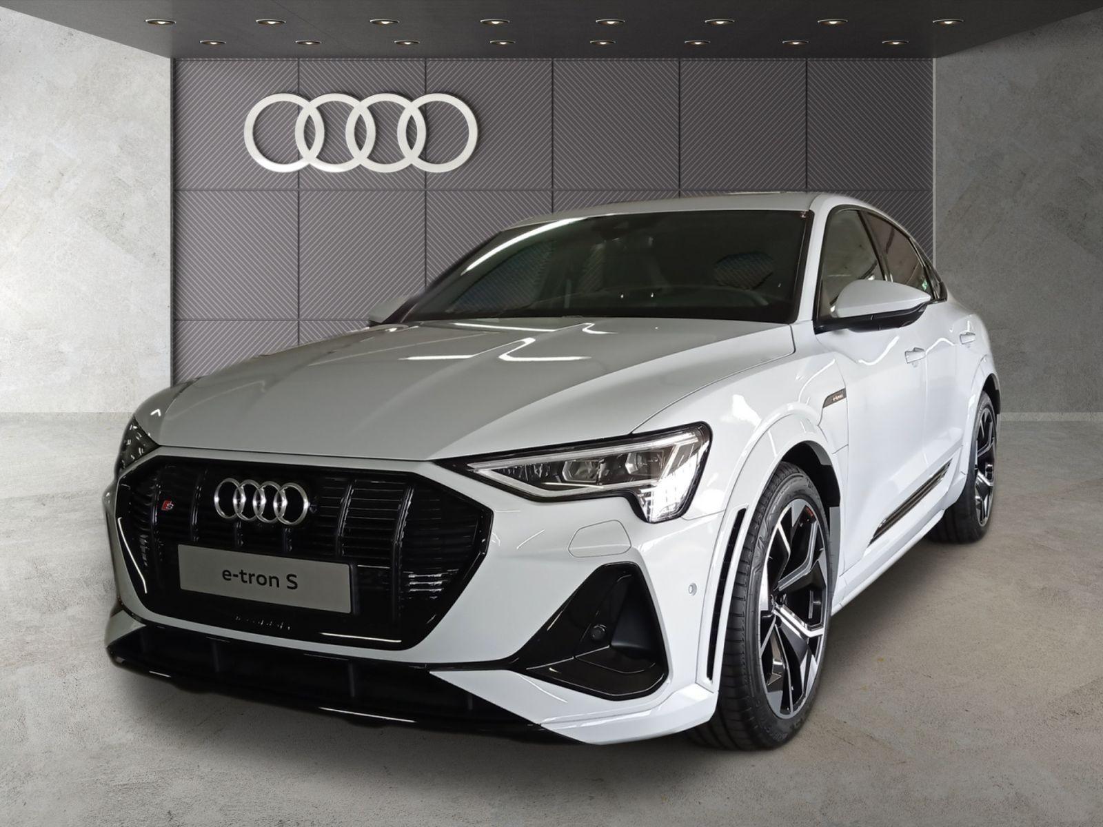 Audi e-tron S Sportback Matrix-LED Panorama B&O HuD air suspension, Jahr 2021, Elektro