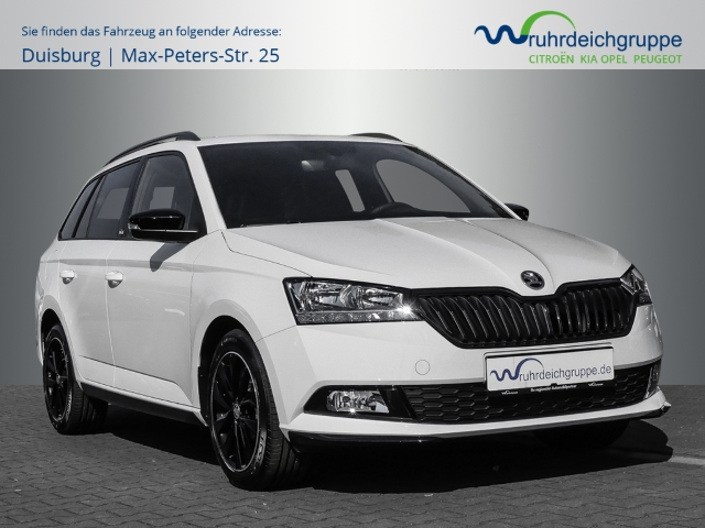 Skoda Fabia Combi Monte Carlo 1.0 TSI +SZH+Carplay, Jahr 2020, Benzin