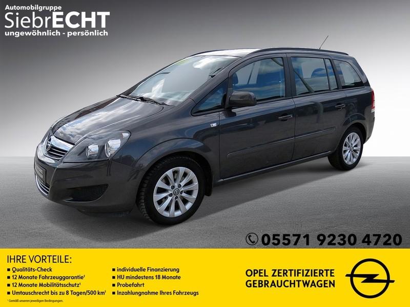 Opel Zafira 1.7 CDTI Family 7Sitzer*Navi*AHK*uvm, Jahr 2014, Diesel