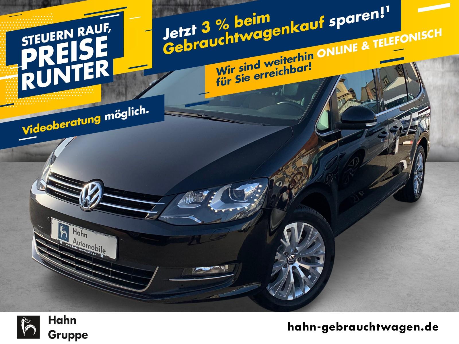 Volkswagen Sharan Highline 1.4TSI Navi Sitzh PDC Climatr Xen, Jahr 2013, Benzin