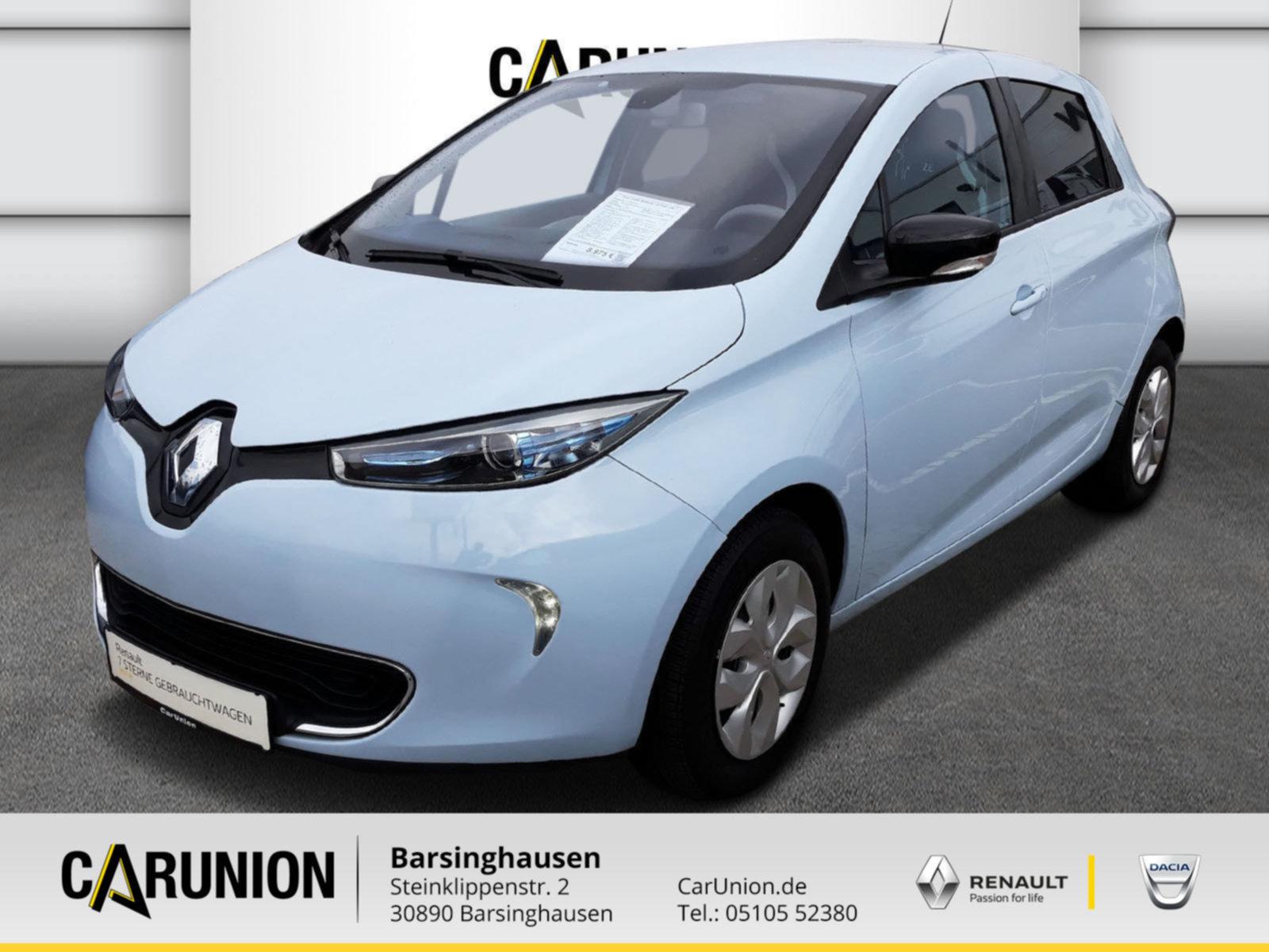 Renault ZOE (zzgl. Batteriemiete) 22 kwh Life, Jahr 2015, none