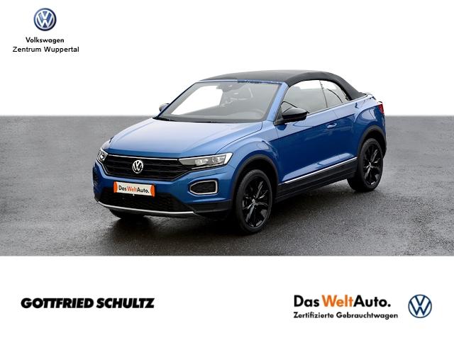 Volkswagen T-Roc Cab. Black Style NAVI LED SHZ PDC LM ZV, Jahr 2020, Benzin